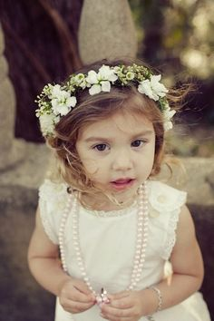 Wedding Flower Girl Headpieces and flower crowns « David Tutera Wedding Blog • It's a Bride's Life • Real Brides Blogging til I do! ... Rustic glamorous, country elegance, shabby chic, vintage, whimsical, boho, best day ever