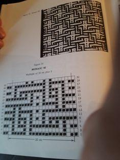 Tunisian Crochet, Filet Crochet, Irish Crochet, Knit Crochet, Afghan Crochet Patterns, Crochet Chart, Knitting Patterns, Knitting Charts, Knitting Stitches