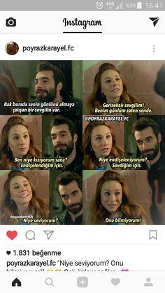 Ben soyliyeyim gulusun için Turkish Language, Word 3, Couple Goals, Cool Words, Karma, Wattpad, Memes, Funny, Quotes