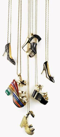 Charms. Salvatore Ferragamo Jewels 'Miniature Preziose' Collection ♥✤…