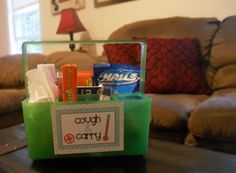 Cough & Carry Caddy | | Darling Doodles