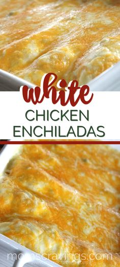 White Sauce Enchiladas, White Chicken Enchiladas, Enchilada Sauce, Chicken Enchilada Bake, Kitchen Recipes, Cooking Recipes, Freezer Recipes, Freezer Cooking, Kitchens