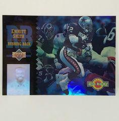 Emmitt Smith Football Card1994 Upper Deck Pro Bowl Holoview PB10 Dallas Cowboys #DallasCowboys #forsale #emmittsmith #footballcard #UpperDeck #Ebay #HOF #sportscard #cardcollector #dallascowboys #Dallas #cowboys #probowl #vintagecard ow.ly/Co7m308W3zu