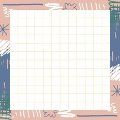 Cute Notes, Good Notes, Vintage Pattern Design, Memo Notepad, Note Doodles, Note Memo, Iphone Background Wallpaper, Frame Template, Doodle Patterns