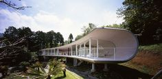 Shigeru Ban's Crescent House