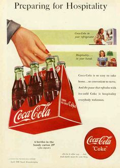 History of Coca-Cola in AdsLilypad