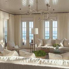 Ivory Curtains - Design, decor, photos, pictures, ideas ...