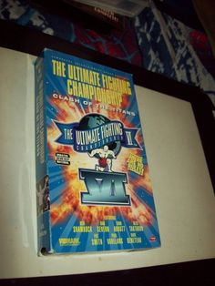 Ultimate Fighting Championship - Clash of Titans VHS  UFC 6