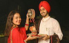 Dewy Makeup Look, Fresh Face Makeup, Glam Makeup, Neha Kakkar Dresses, Traditional Blouse Designs, Cute Baby Wallpaper, Couple Wallpaper, Punjabi Couple, The Wedding Singer