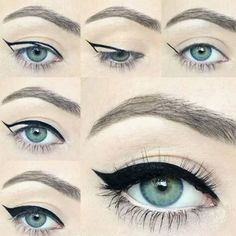 eyeliner flicks