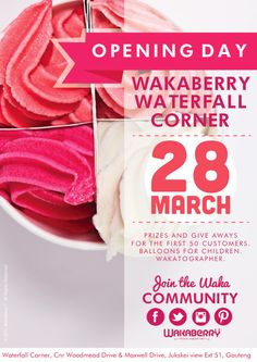 Wakaberry Waterfall Cnr. opening soon!