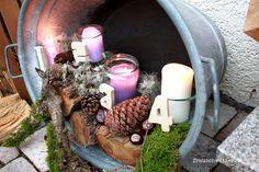 outdoor adventskranz