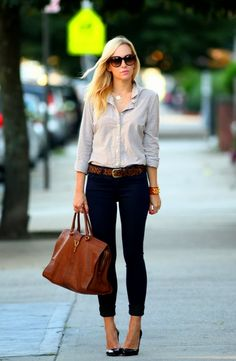 Gorgeous Casual Outfits Street Style | More outfits like this on the Stylekick app! Download at http://app.stylekick.com