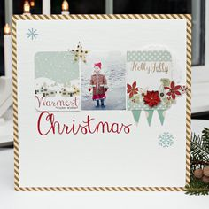 #papercraft #scrapbook #layout      Christmas by christin.gronnslett at @Studio_Calico