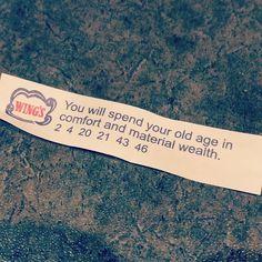 Here's hoping! Also this is my post woooooo. Fortune Cookie, Van, Instagram, Vans, Cookie