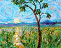 """Karen's Fine Art – Gallery Represented Modern Impressionism in oils    Title: Tuscany Poppy Fields  Original oil painting by Karen Tarlton  Size: 12""""x 16""""  Painting varnished for protection and enhancement  PAINTED ON STRETCHED CANVAS WITH SIDES PAINTED. READY TO HANG!  Hand-Signed Certificate of Authenticity included  Frame is not included, but I do have plein air frames available for purchase.    On a bright sunny day, the rural landscape is luminous and inviting. Brilliant red poppies and…"""