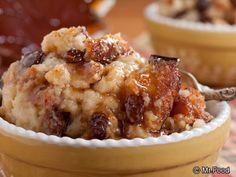 http://www.mrfood.com/Puddings/Old-Fashioned-Bread-Pudding-3709