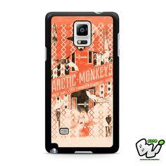 Arctic Monkeys Samsung Galaxy Note 4 Case
