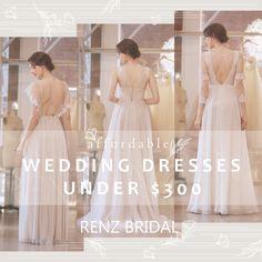 Renz, Lace Wedding, Wedding Dresses, One Shoulder Wedding Dress, Backless, Bridal, Formal Dresses, Fashion, Bride Dresses