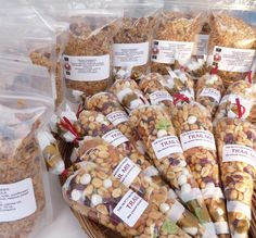 granola recipe, plus ideas for homemade trail mixes