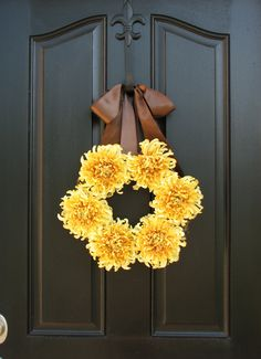 Autumn Sun Fall Wreaths Fall Decor Front Door by twoinspireyou