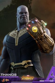 Avengers: Infinity War  Thanos Collectible Figure Coming Soon