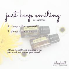 My Favorite Essential Oil Diffuser Blends and Recipes (Plus Free Download) - Energy boosters, Uplifting quotes, Positive vibes with this blend