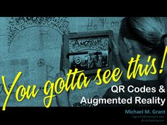 You gotta see this! QR codes & augmented reality from @michaelmgrant
