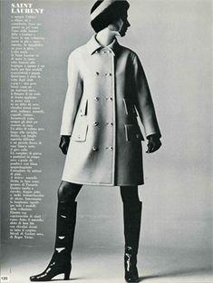 YSL, Vogue 1966