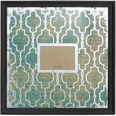 Tile Pattern Wall Frame, holds 5x7 photo, on Clearance at Pier 1 Imports