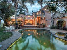 Sacramento, CA - A unique home nestled perfectly in the beautiful streets of East Sacramento. Commonly referred to as the Lubin Castle. Beautiful resort like backyard with spacious patio and pool