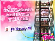 Mirá TODAS las coreos y los videos de TKM!!! Suscribite a nuestro canal de Youtube: https://www.youtube.com/user/tkm