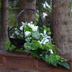 Ikebana, Funeral, Flower Arrangements, Floral Design, Wreaths, Flowers, Plants, Home Decor, Modern Floral Arrangements