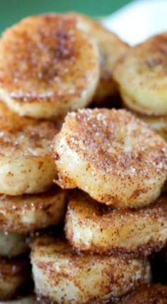 Pan Fried Cinnamon Bananas @michaelsusanno @emmammerrick @emmasusanno #twinflamestravelingtheuniversetogethermarriedforeternityiththeir6children #panfriedbananas #breakfast