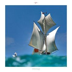 Poster photo Madagascar - Boutre Philip Plisson