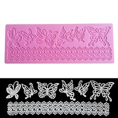 Y&XL&H Silicone 3D Butterfly Design Mold Cookware Dining Bar Non-Stick Cake Decorating Fondant Soap Mold SugarCraft