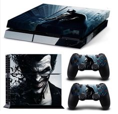 Batman SKIN for Your PS4 Controller & Console