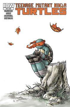 Teenage Mutant Ninja Turtles #30 by mooncalfe.deviantart.com on @deviantART
