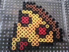Pizza perler beads by victoria campbell