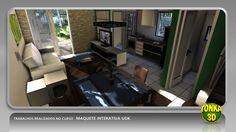 Resultado final de uma das imagens produzidas e ensinadas no curso Maquete Interativa UDK. Veja mais: http://www.tonka3d.com.br/curso-maquete-interativa-udk.html