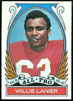 Willie Lanier All-Pro - 1972 Topps #283