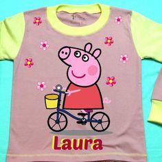 Pepa Pig Personalized Girl Pajama