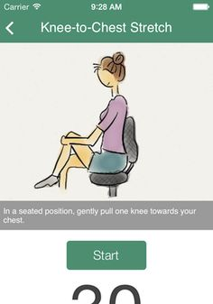 Great Ergonomic app that reminds people in the office or workplace to stretch and keep your body moving. This is great for your overall health!