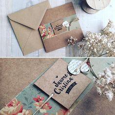 Invitaciones de boda caseras | Bodas