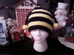 Crochet  bee hat/ baby toddlersadults by inspirebynancy on Etsy, $20.00