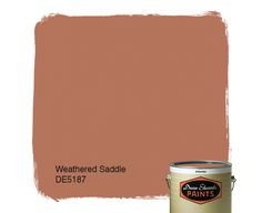 Dunn-Edwards Paints paint color: Weathered Saddle DE5187 | Click for a free color sample #DunnEdwards