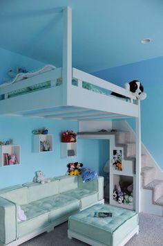 Fun loft bed