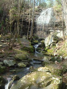 Bridal Veil Falls, Heber Springs, AR
