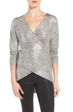 Trouvé Crossover Front Tunic available at #Nordstrom