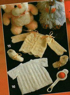 Tricotando carinho: Casaquinho e sapatinho Dayse
